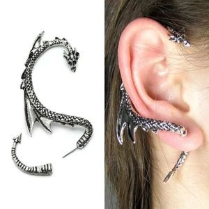 Dragon ear cuff earring